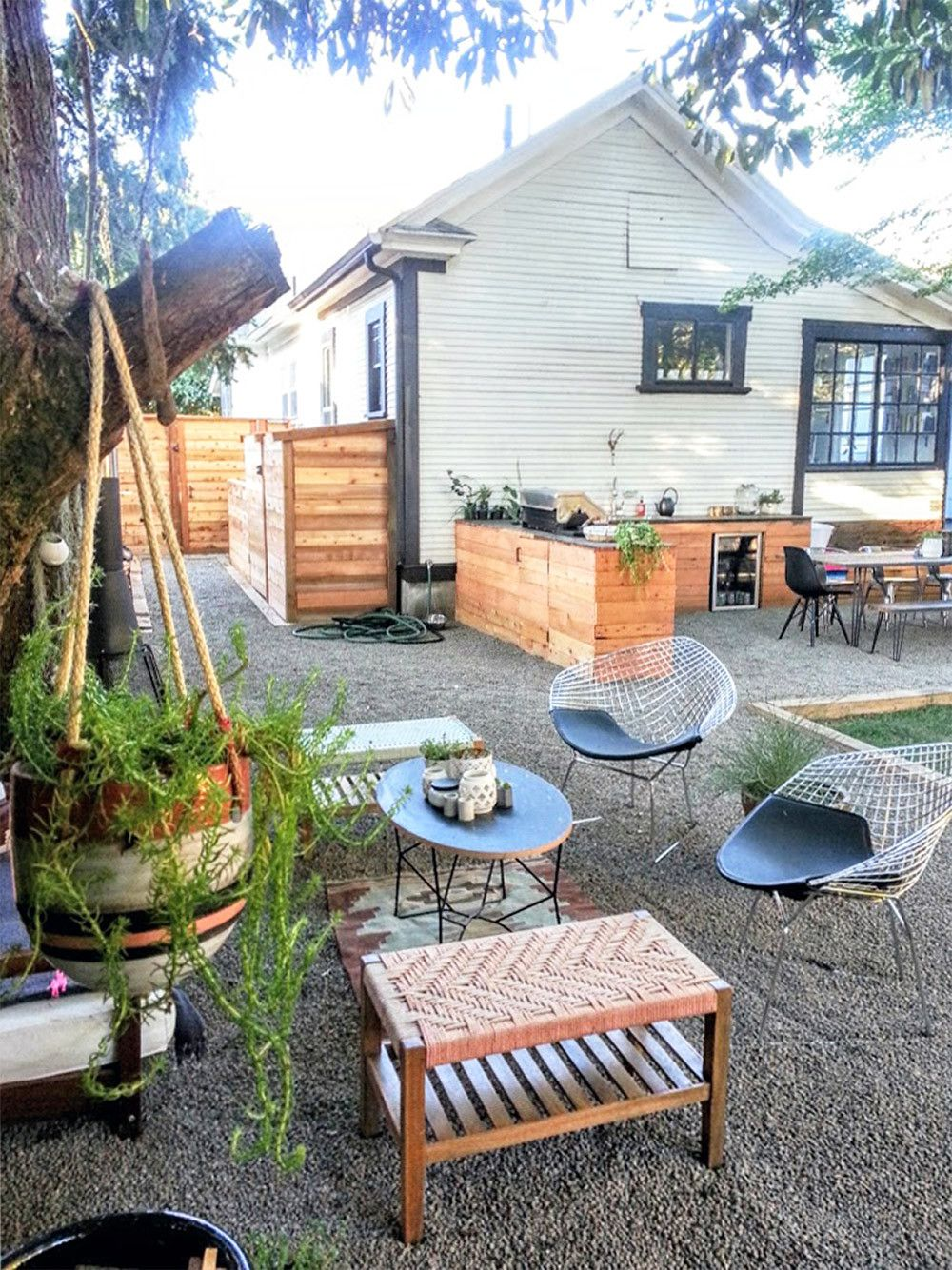 Before & After: The Little NoPo Farmhouse Yard | Backyard ...