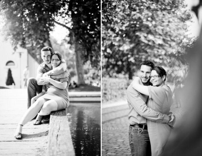 Photographe couple Paris – Célie & Nicolas, Séance d'engagement au Parc de Bercy (Paris, 75)