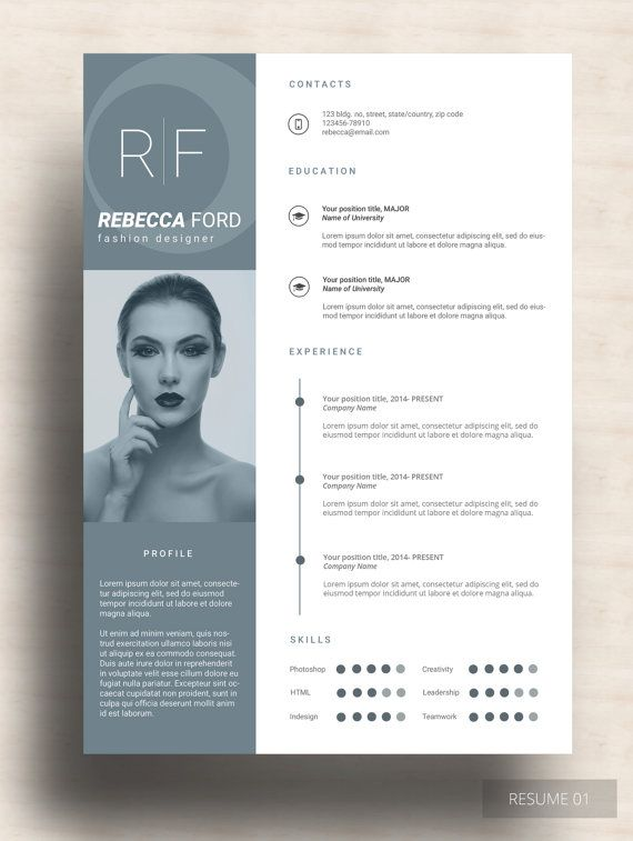 RANIN RESUME This resume template is incredibly made for those who ...