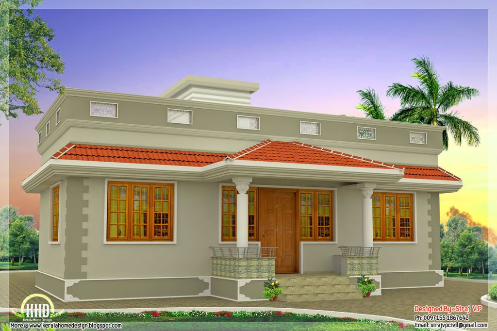 Small House Dogs Simple House Design Kerala House