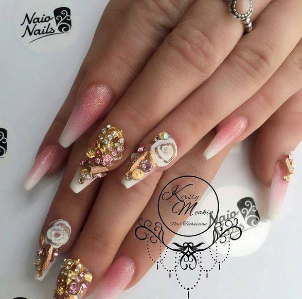 Naio Nails   Kirsty Meakin   Nail Art ♥   Pinterest   Nail nail