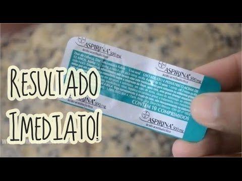 Aspirina Para Remover Cravos E Espinhas Cravos E Espinhas