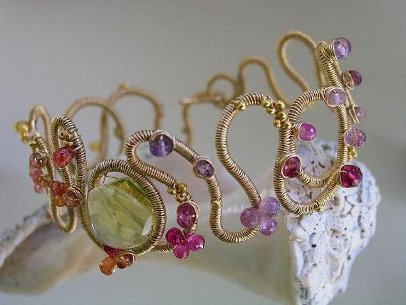 Summertime...Orange Yellow and Violet Pink by bellajewelsII