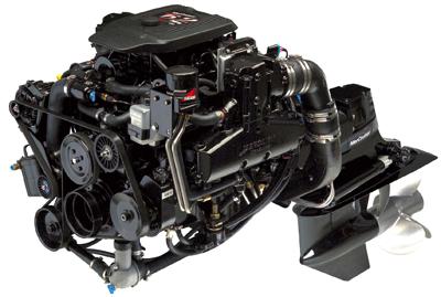 Mercury Mercruiser #10 MARINE ENGINES GM 4 Cylinder Service