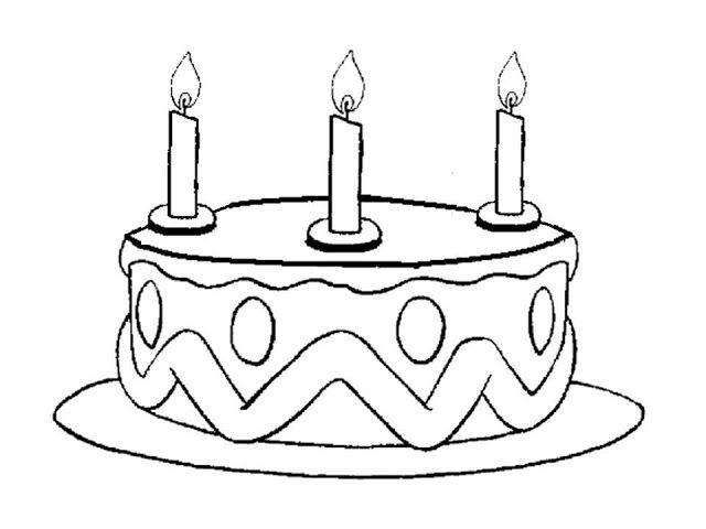 Maestra de Infantil: Los números del 1 al 5. Tartas de cumpleaños ...