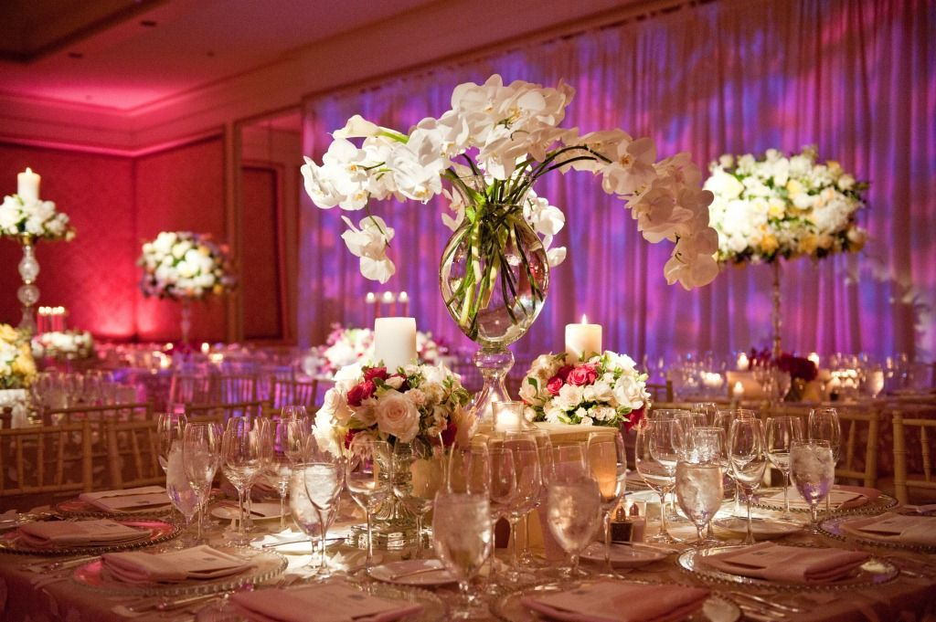 Crystal wedding centerpieces classic luxury philadelphia hotel crystal wedding centerpieces classic luxury philadelphia hotel weddings white junglespirit Gallery