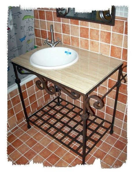 Lavabo Forja.Muebles De Bano De Forja Madrid 0 In 2019 Home Decor
