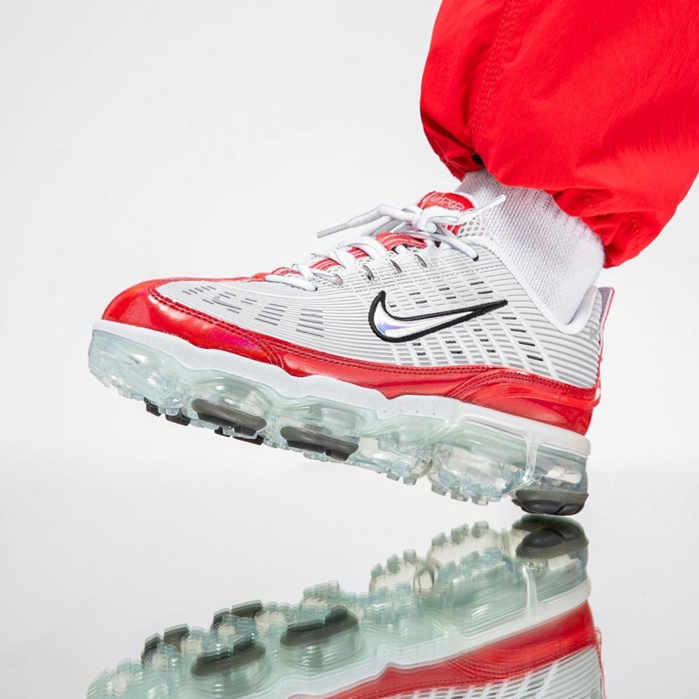 Nike Air VaporMax 360 Grey Red Sale Price 180 (Retail