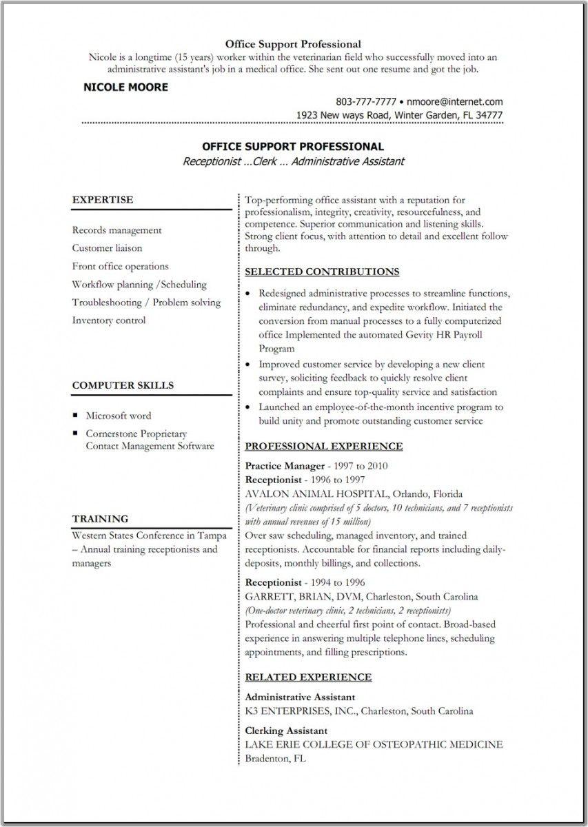 Write A Resume Template Resume Template Ideas Cdc Info