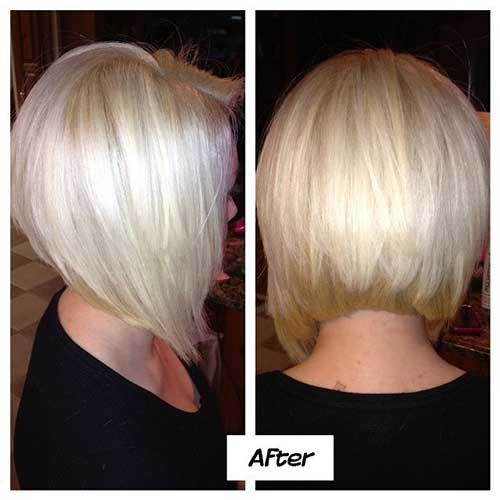 Stacked Bob Hairstyle back view of stacked bob hairstyles 35 Short Stacked Bob Hairstyles Httpwwwshort Haircut