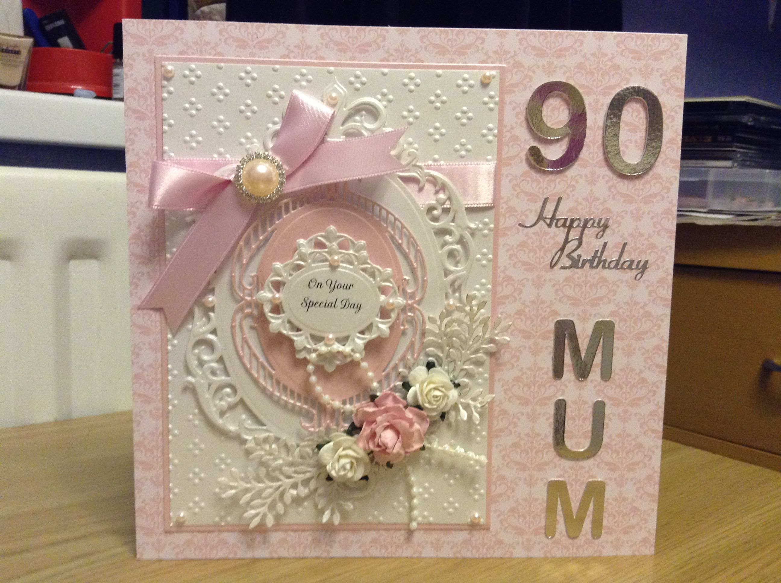 90th Birthday Card For A Mum