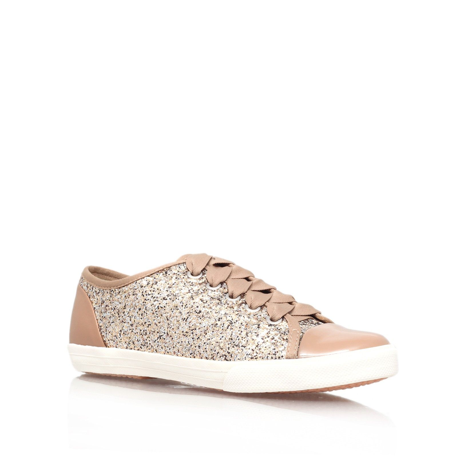 jasper gold trainers from Carvela Kurt Geiger | Sneakers