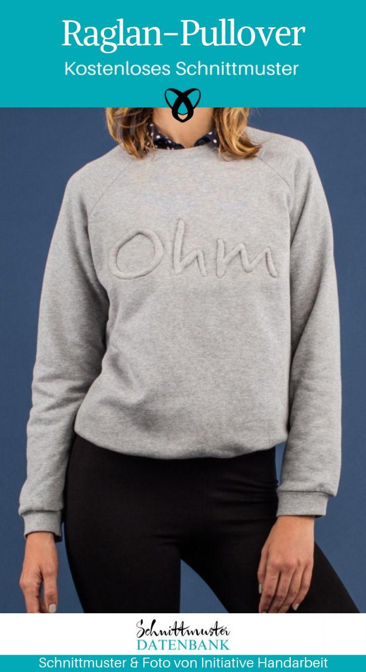 Pull raglan   – NÄHEN: Kleidung für Frauen