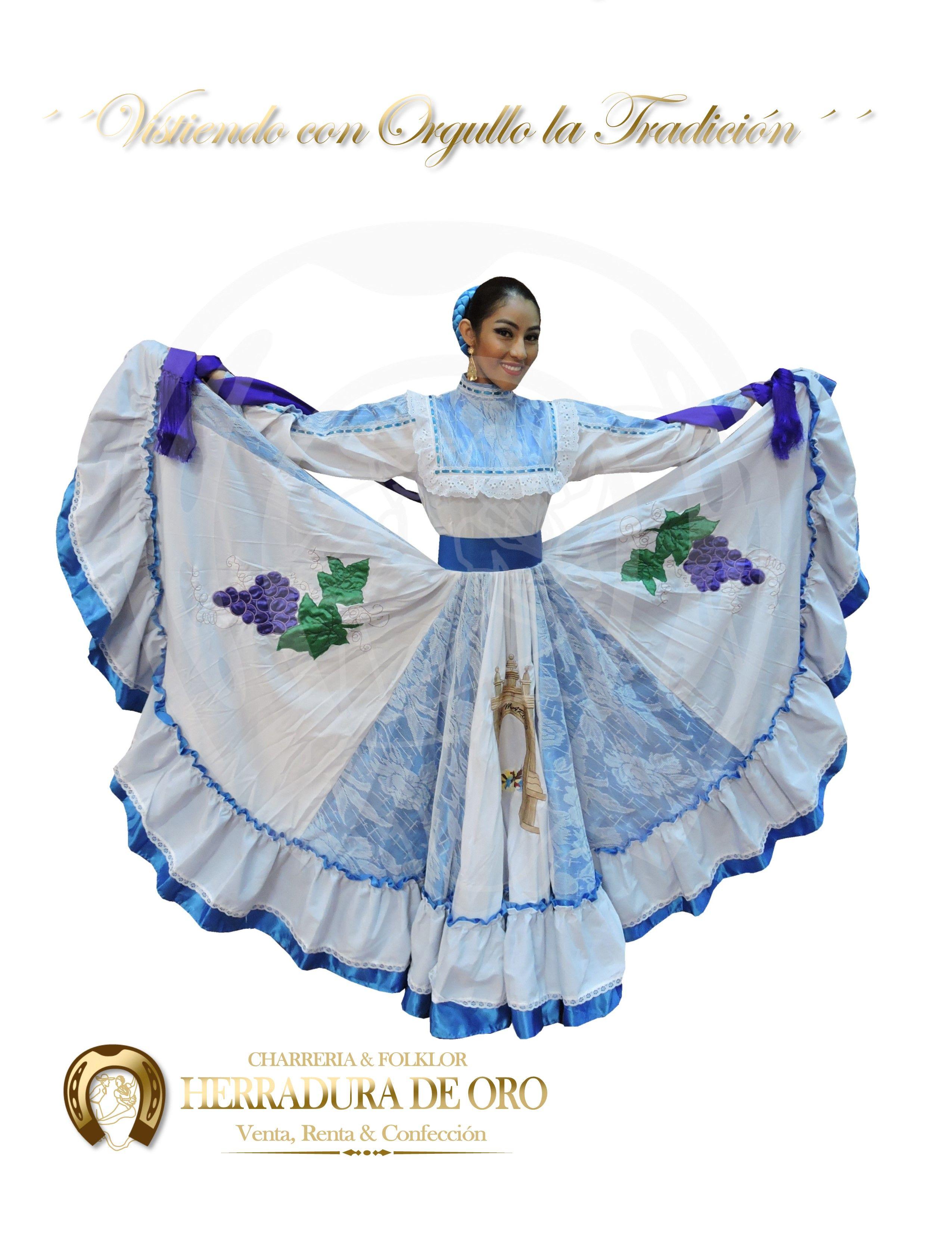 Traje Folklorico Del Estado De Aguascalientes 1774 Venta