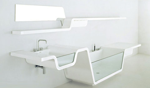 bathroom sink shelf with bathtub | Home: Bathroom | Pinterest | Sink ...