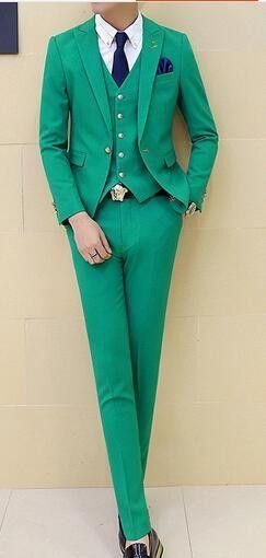 3 pieces (Jacket+Vest+Pant) Boys Terno Prom Suits With Pants Mens ...
