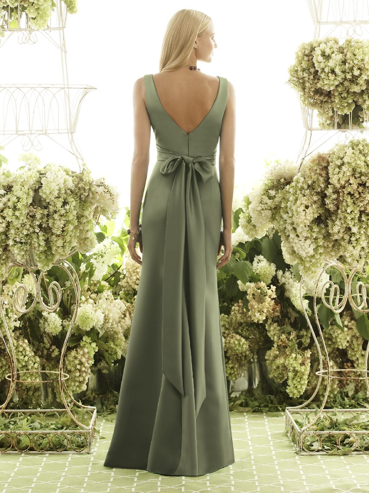 Moss After Six Bridesmaid Dress. #dessy♥weddingchicks | gorgeous ...