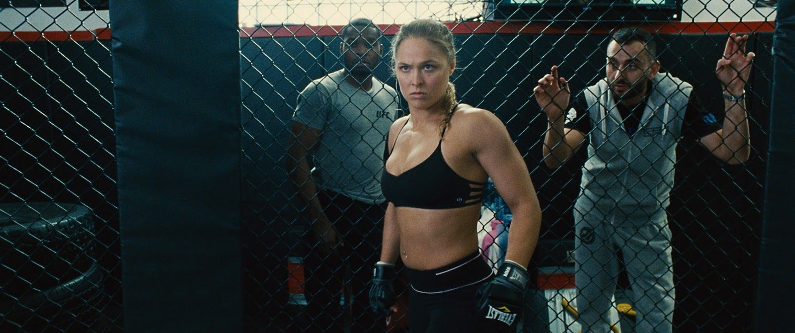 Ronda Rousey in the Entourage Movie