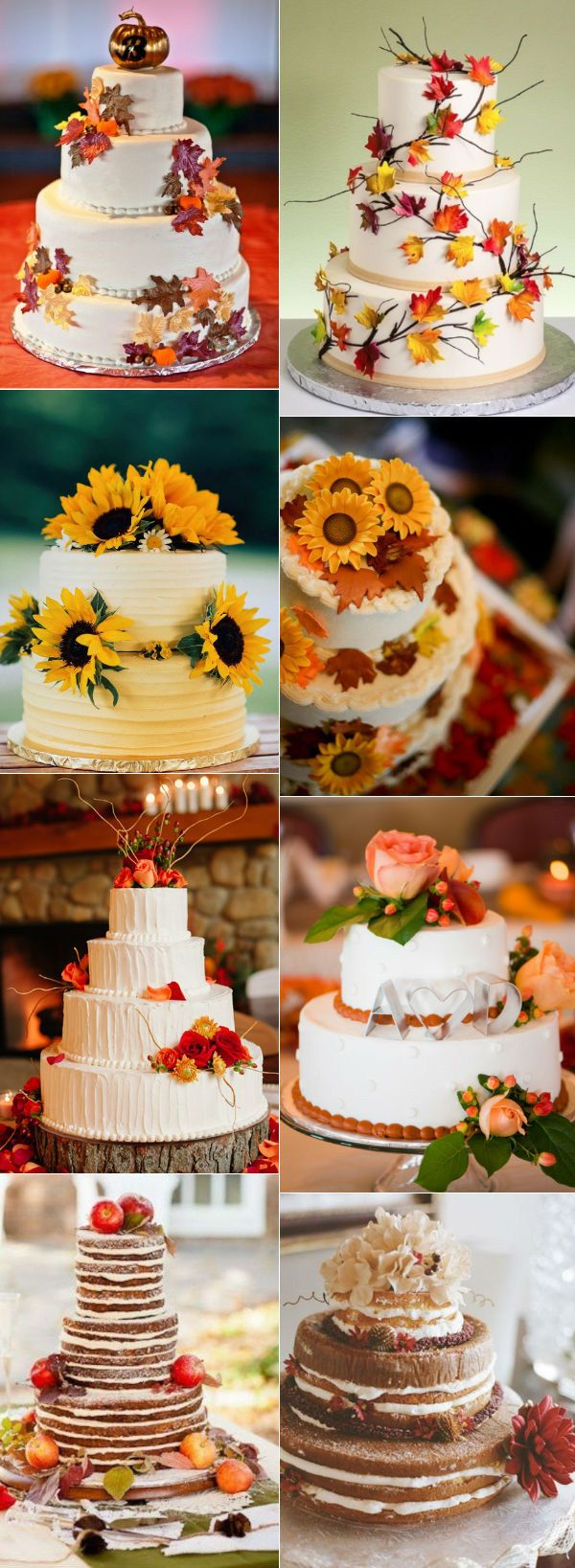 32 Amazing Wedding Cakes Perfect For Fall Fall wedding