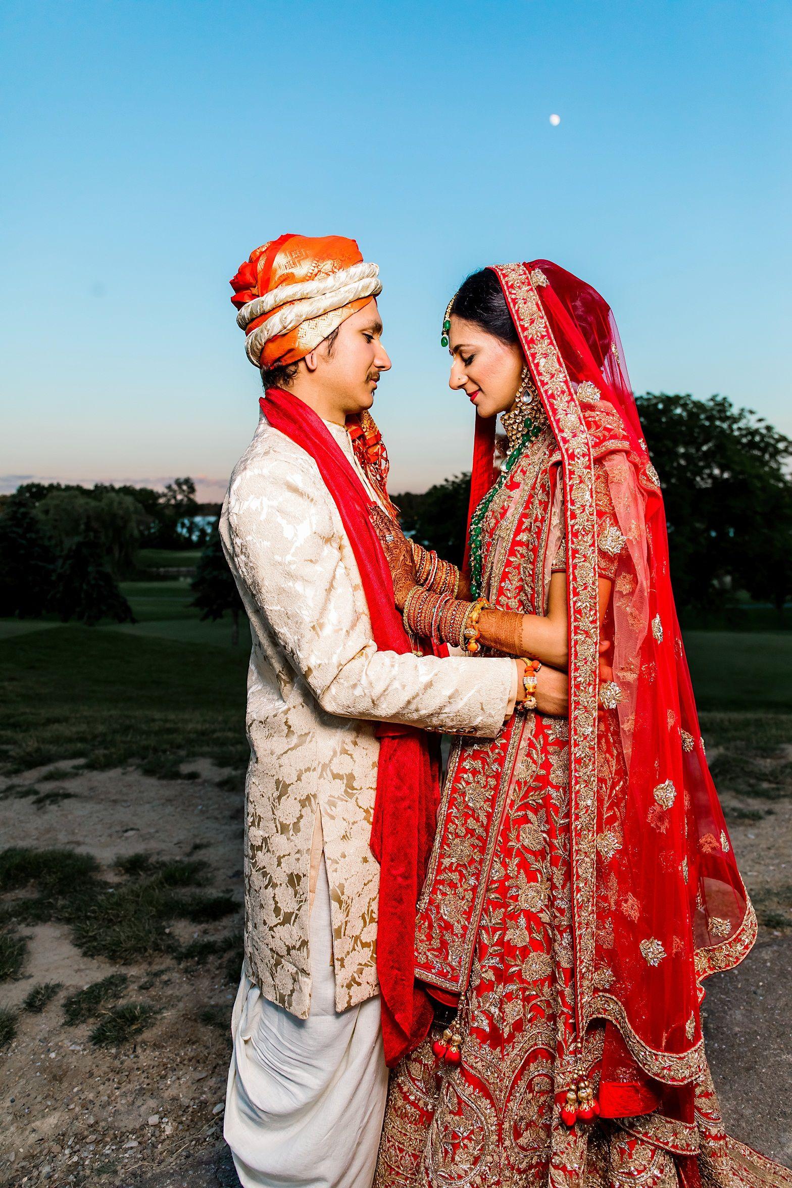 June 2018 real indian wedding in michigan uma n nandini