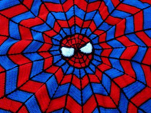 Ravelry: beluke\'s Spider-Man Blanket | Crochet | Pinterest ...