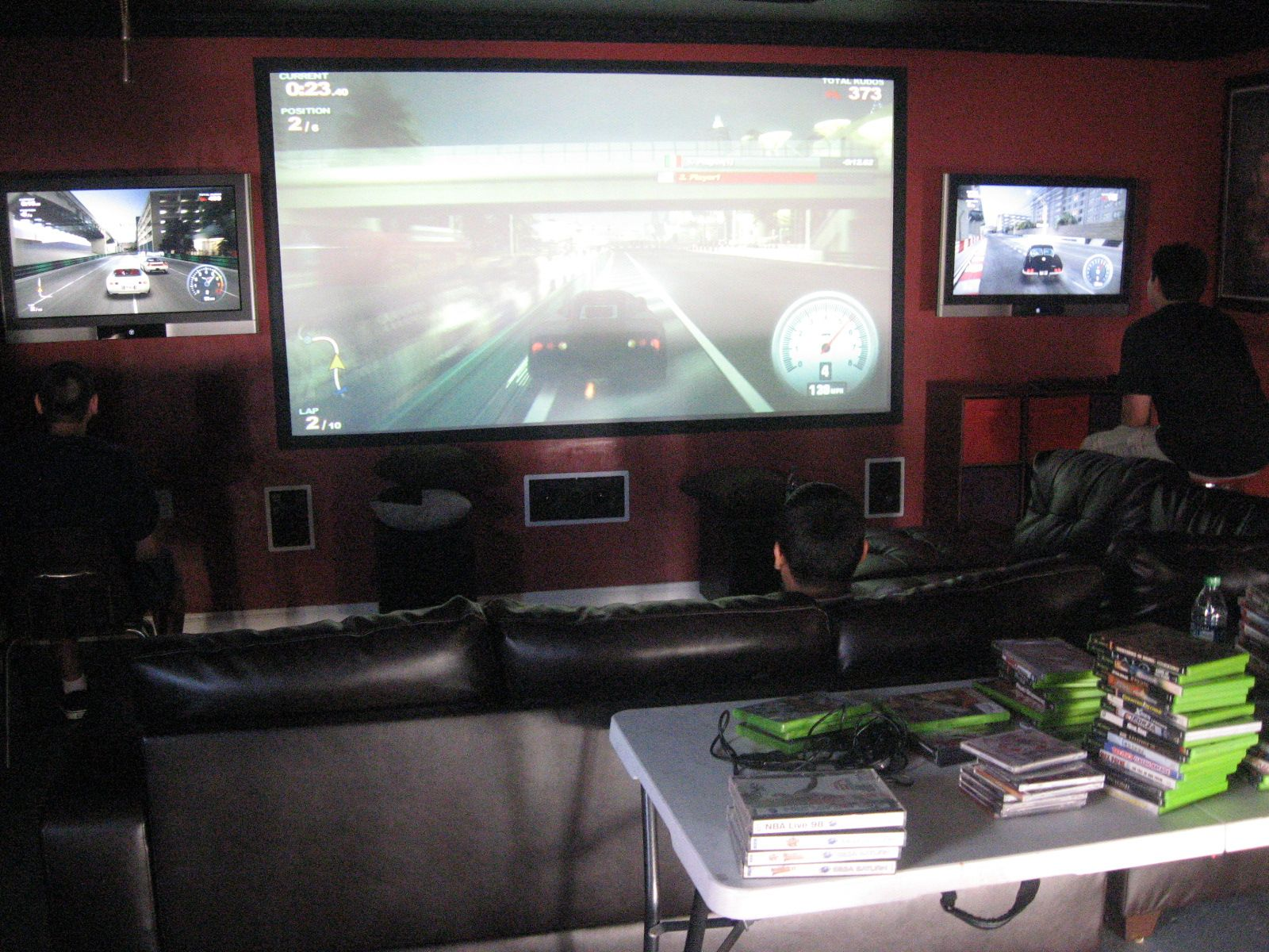 My ultimate gaming setup man cave bedroom june 2014 youtube - Original Gaming Man Cave Ultimate Gaming Man Cave Wired