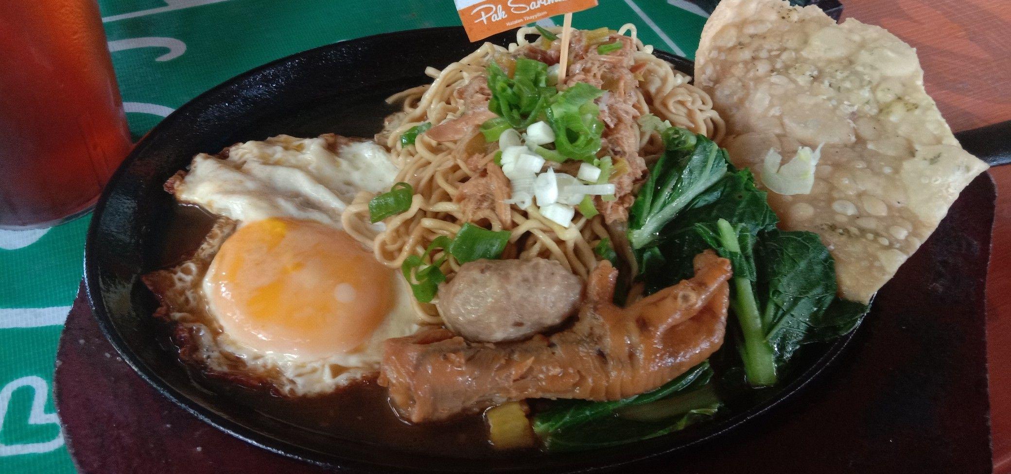 Mie Ayam Hotplate