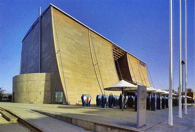Japan Pavilion Expo 92 By Tadao Ando