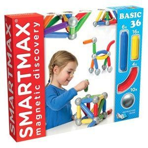 Educational SMARTMAX Magnetic Discovery BASIC 25 Construction Set
