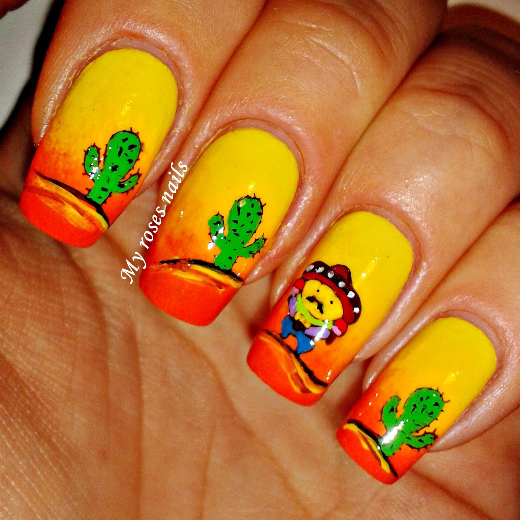 Mexican Nails Art Best Nail Designs 2018