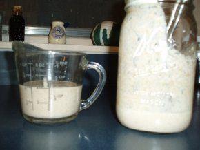 Sourdough Starter for Wholegrain Bread  (pineapple juice)