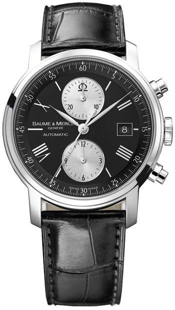 BAUME MERCIER  Classima Executive Chronograph Automatic  Men's Watch  MOA08733 $2995
