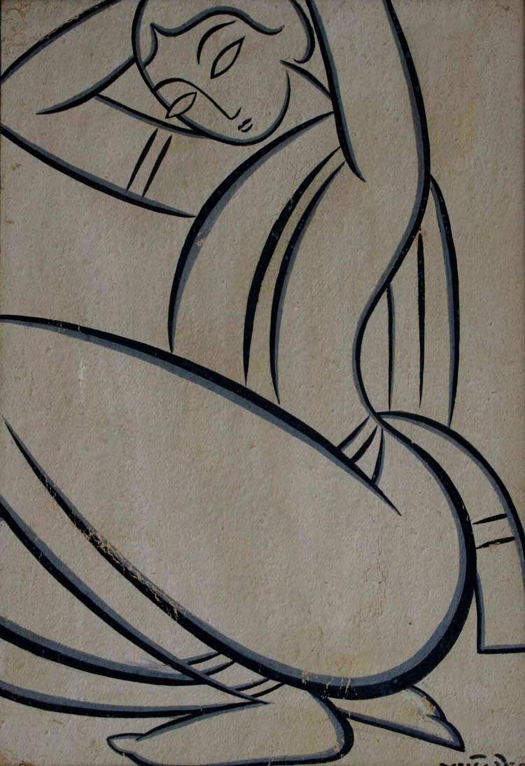 Folk art of bengal and kalighat paintings good graphics art