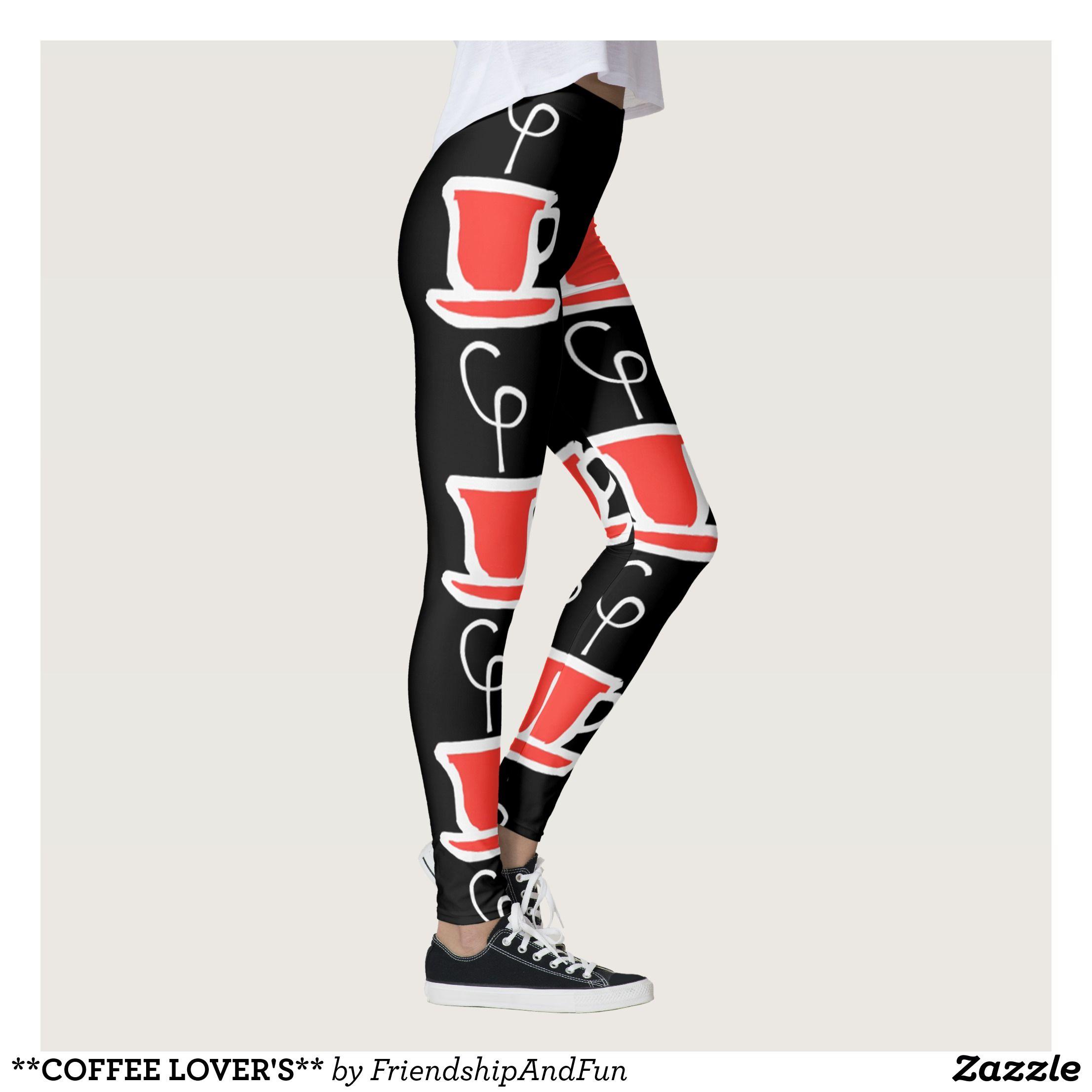 COFFEE LOVER'S LEGGINGS Beautiful Yoga Pants