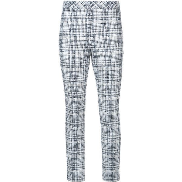 Rosetta Getty skinny tweed trousers ($1,390) ❤ liked on Polyvore featuring  pants, capris