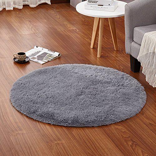 Lochas 4feet Round Area Rugs Super Soft Living Room Bedroom Home