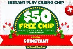 $50 Free Chip No Deposit bonus Instant Play Silver Oak