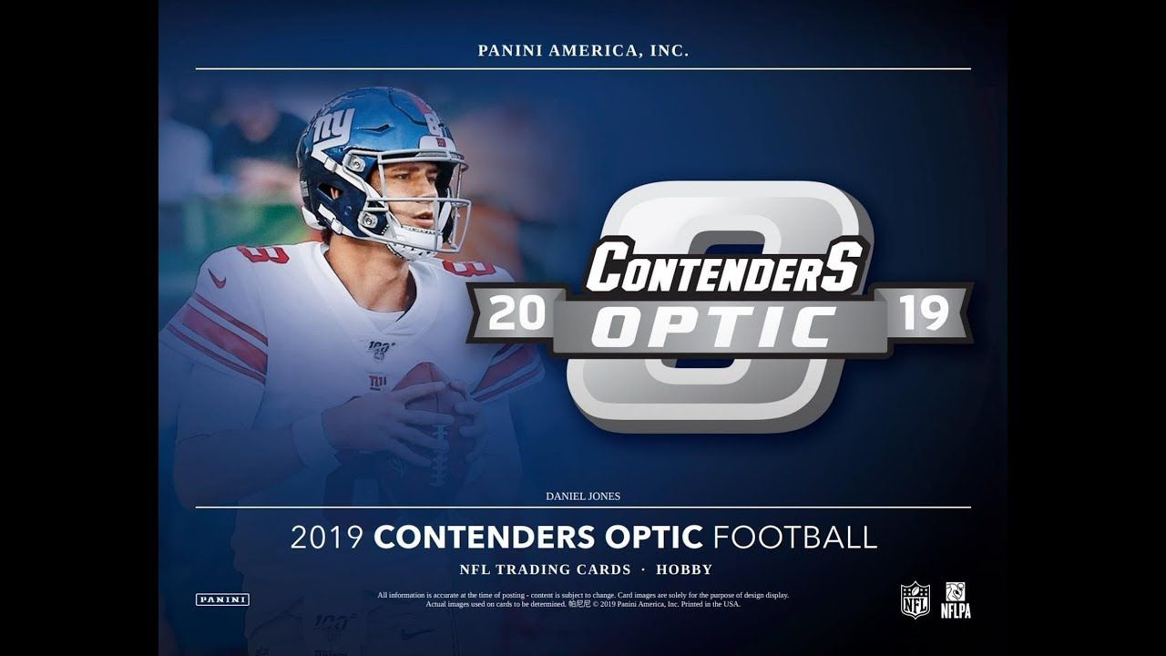 Opening The New Release 2019 Panini Contenders Optic Football