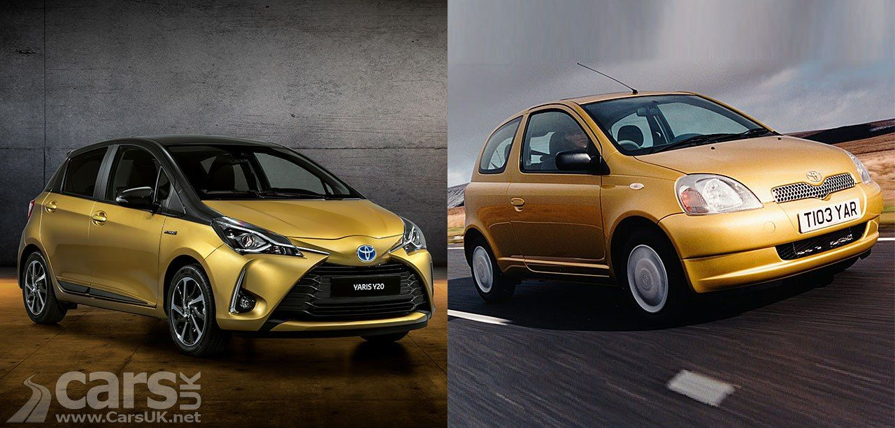 Toyota Yaris Y20 Pays Homage To The Original Yaris 20 Years On