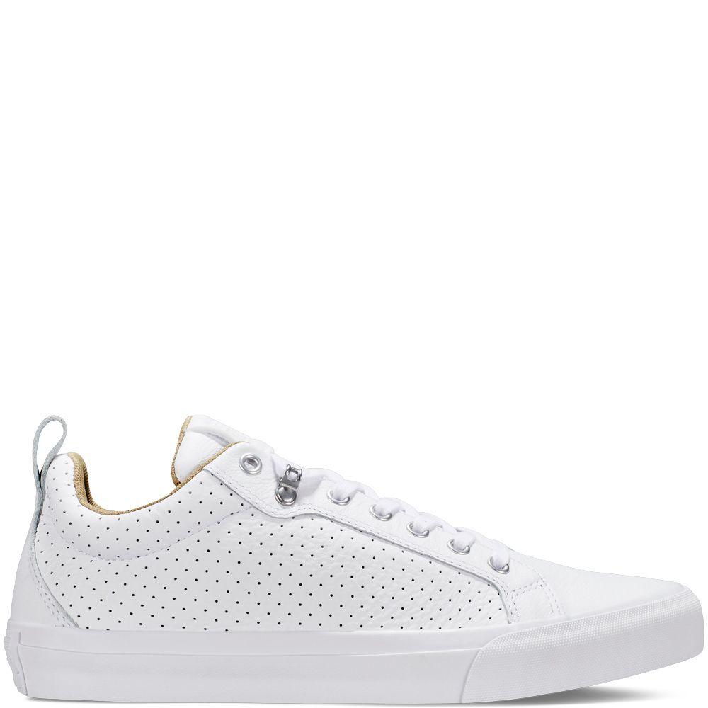 All Star Fulton Leather White white