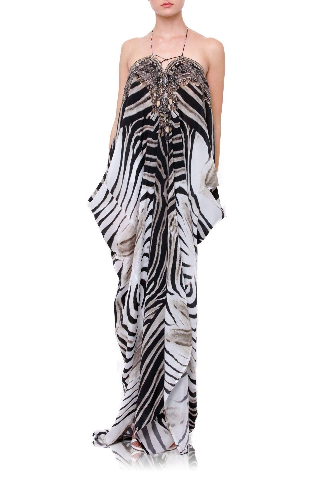 06183707a1cf 50%-60% Off Designer Kaftans [Best Stripe Print] Up to 50% Off - Shahida  Parides®