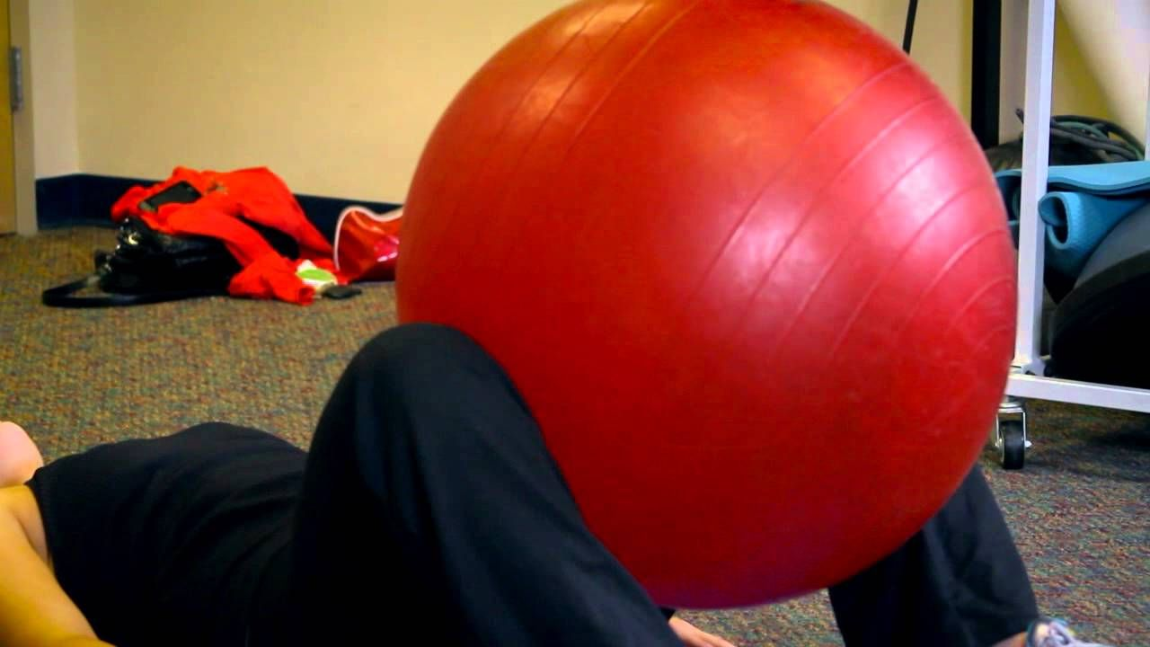 Hip Adductor Exercises on the Ball Smart Exercises