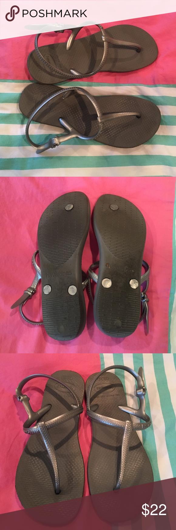 Sandals shoes usa - Silver Havaianas Sandals Havaianas Shoesusashoes Sandals