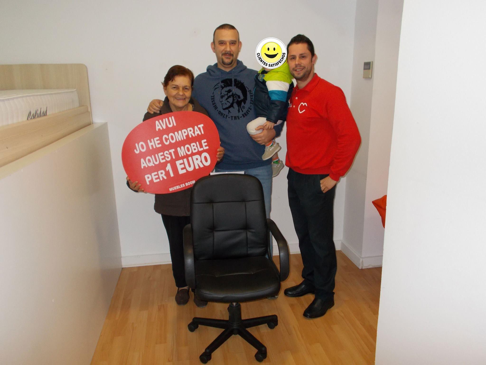 El pasado viernes miriam j y mauro p se compraron por solo 1 euro esta silla de - Muebles boom 1 euro ...