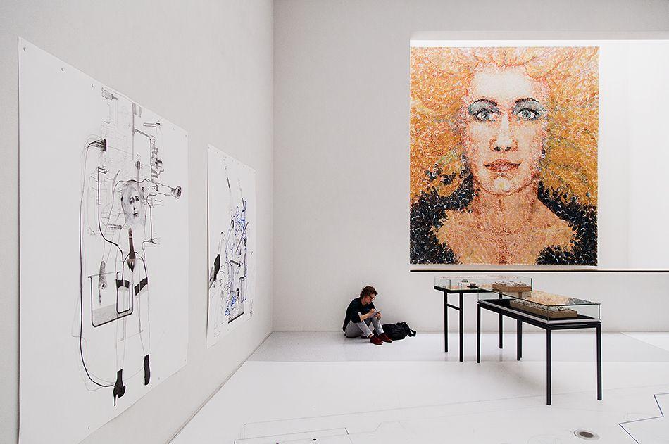 Fabian Frohlich Documenta 14 Kassel Work By Lorenza Bottner Neue Galerie Kassel Documenta Kassel Ausstellung