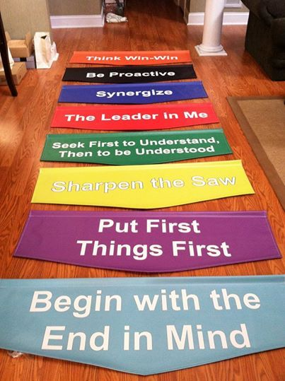 Character Trait Banners For School