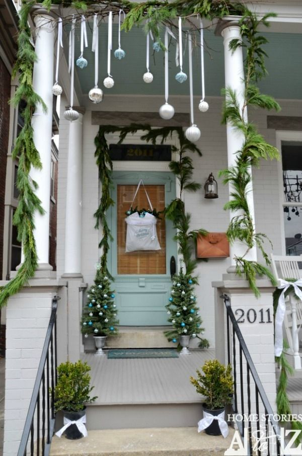 Image For Best Simple Outside Christmas Decorating Ideas Ideas