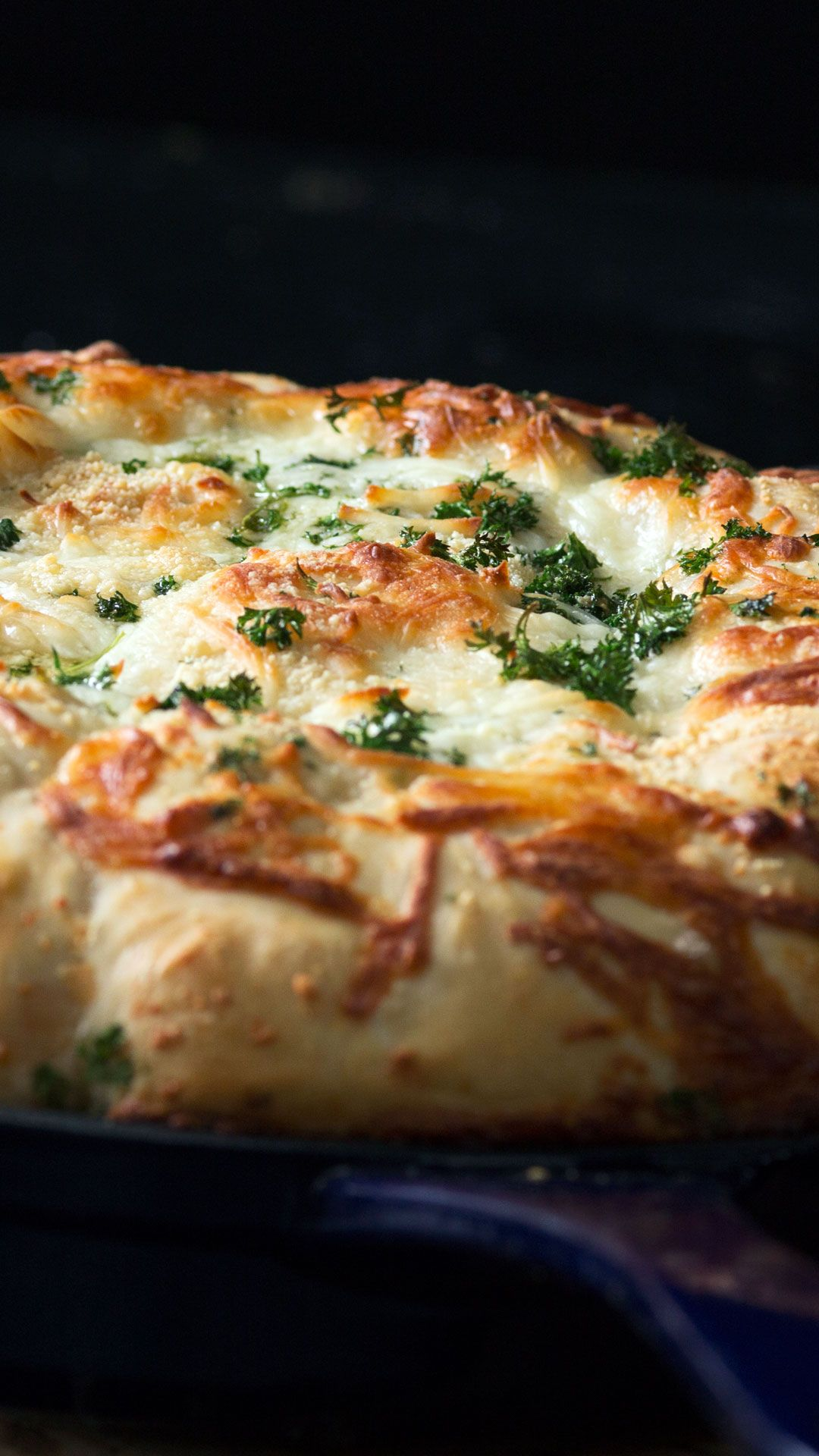 Photo of Meatball Calzone Pull Apart Bread