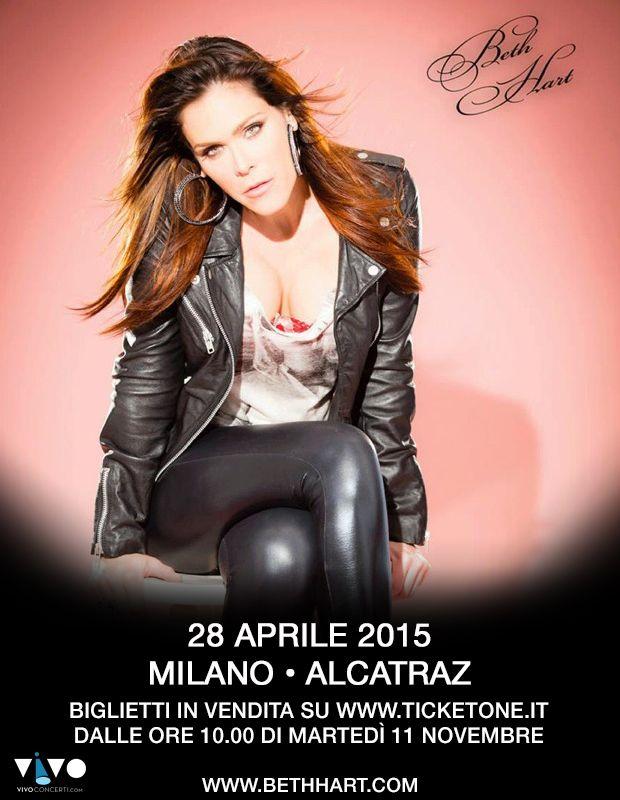 Beth Hart 29.04.2015 live @ Alcatraz Milano