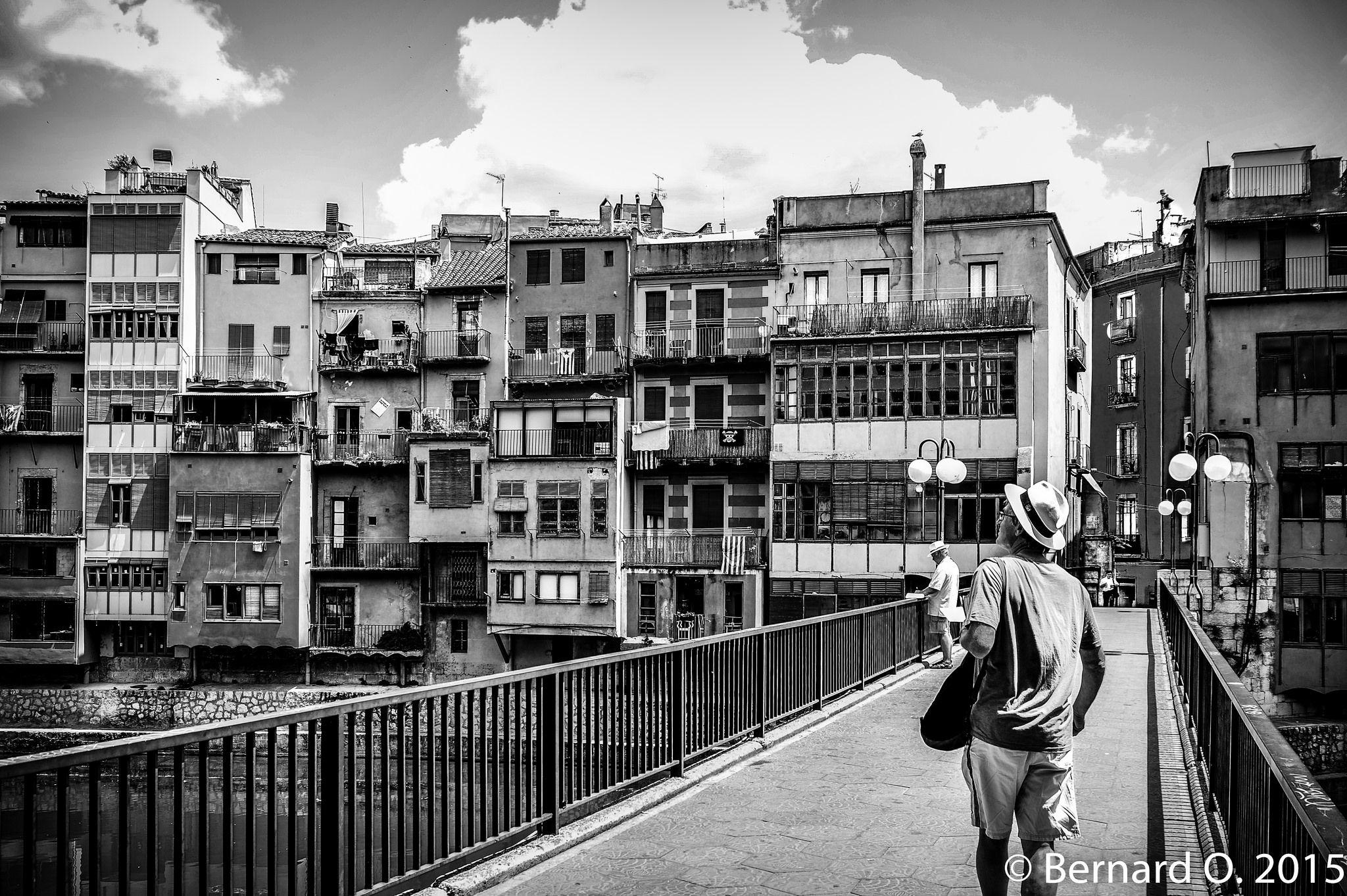https://flic.kr/p/s5UAh9 | Girone, sur le Rio Onyar (Catalogne)